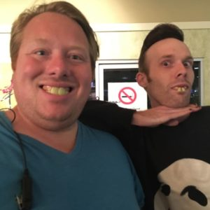 Josh and Brad